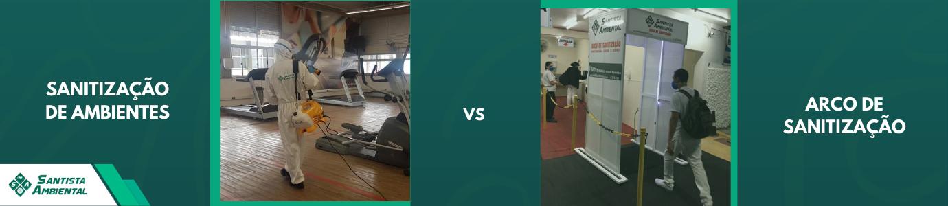 Arco de Sanitização vs Sanitização de Ambientes: qual a diferença?