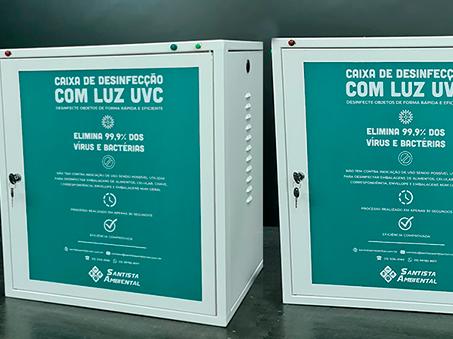 Caixa de Desinfecção UVC